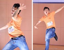 Thí sinh khuyết tật gây ấn tượng tại Thử thách cùng bước nhảy