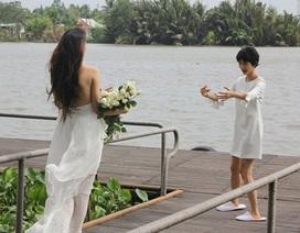 """Thí sinh Vietnam's Next Top Model """"nhặt lá, đá ông bơ"""""""