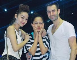 Minh Hằng, Bảo Anh nhí nhảnh trên sân tập của Bước nhảy hoàn vũ