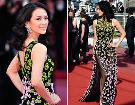 Chương Tử Di đẹp rạng ngời trong ngày cuối tại Cannes