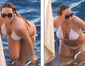 Mariah Carey lại khoe thân trong clip mới