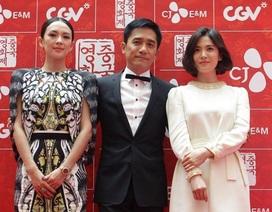 Chương Tử Di đọ sắc cùng Song Hye Kyo