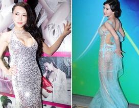 """Lại sốc với váy áo """"có mà như không"""" của Tân Phan Kim Liên"""