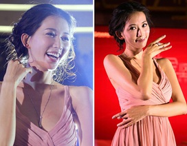 """Ngắm """"chân dài"""" Lâm Chí Linh kiêu sa trên sân khấu"""