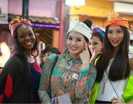 Hình ảnh đầu tiên của Lại Hương Thảo tại cuộc thi Hoa hậu Thế giới 2013