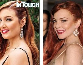 Em cùng cha khác mẹ phẫu thuật để giống Lindsay Lohan