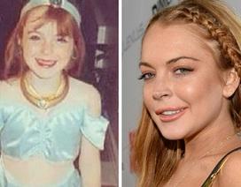 Lindsay Lohan khoe ảnh thời thơ ấu ngây thơ