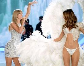 """Taylor Swift """"nóng bỏng"""" trên sân khấu Victoria's Secret"""