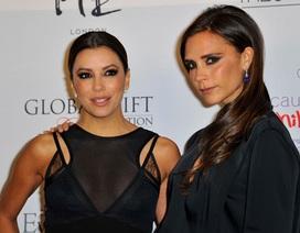 Victoria Beckham đọ dáng cùng Eva Longoria