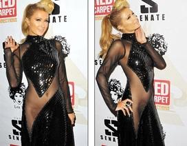 """Paris Hilton khiêu khích với váy xuyên thấu không """"nội y"""""""