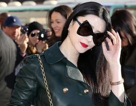 Phạm Băng Băng khoe da trắng sứ tại tuần lễ thời trang Paris