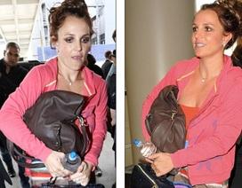 """""""Công chúa nhạc Pop"""" Britney Spears lôi thôi xuống phố"""