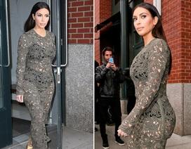 """Kim Kardashian bị phát hiện """"ăn gian"""" vòng hai"""