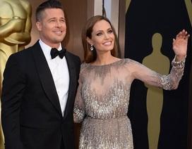Hình ảnh đẹp của Brad Pitt và Angelina Jolie tại Oscar năm 2014