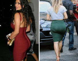 Bằng chứng về sự nảy nở bất thường Kim Kardashian