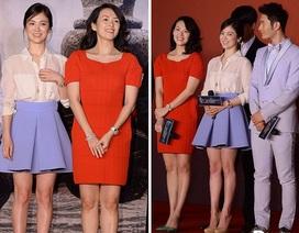 Song Hye Kyo khoe sắc bên Chương Tử Di