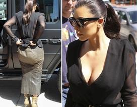"""Kim """"siêu vòng ba"""" bị chê mặc xấu"""