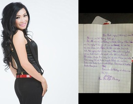 Bức thư xúc động của con gái Phương Thanh gửi cho bố và bà nội