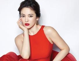 """Mỹ nhân mặt """"mộc"""" xứ Hàn khoe vẻ đẹp mong manh"""