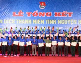 Tổng kết và khen thưởng chiến dịch Thanh niên tình nguyện Hè 2013