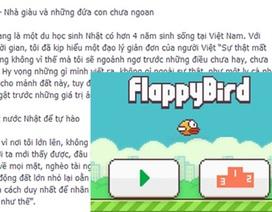 """Xôn xao tâm thư du học sinh Nhật lý giải """"cái chết"""" của Flappy Bird"""