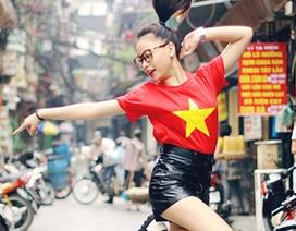 Cô gái dancesport tuổi 15 nhảy ngẫu hứng trên đường phố Hà Nội