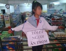 Xôn xao bức ảnh trói nữ sinh nhỏ tuổi vì cho là ăn trộm