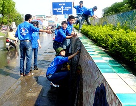 Hàng ngàn thanh niên ra quân phục vụ Kỷ niệm 60 năm giải phóng Thủ đô