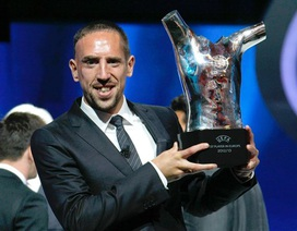 Ribery giành danh hiệu Cầu thủ hay nhất châu Âu
