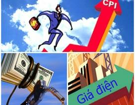 """Giá xăng, điện """"đánh mạnh"""" vào CPI Hà Nội"""
