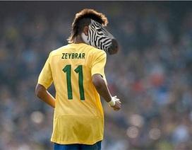 """Chùm ảnh biếm họa """"tiểu Pele"""" Neymar"""