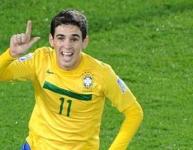 Tài năng trẻ Oscar chính thức gia nhập Chelsea