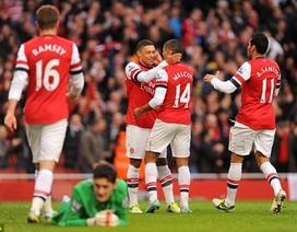 Nhìn lại chiến thắng hủy diệt của Arsenal trước Tottenham