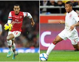"""Arsenal sẵn sàng """"tống khứ"""" Walcott để đưa về Sterling"""