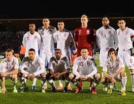 Đội hình tuyển Anh gặp Montenegro bị lộ sớm