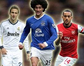 """Được Arsenal chèo kéo, Fellaini """"hét"""" lương kịch trần"""