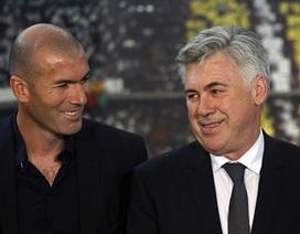 """Zidane chính thức thành """"phó tướng"""" cho Carlo Ancelotti"""