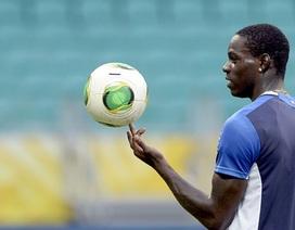 Chấn thương nặng, Balotelli ngậm ngùi chia tay Confed Cup