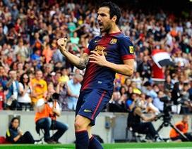 Cesc Fabregas cam kết gắn bó với Barcelona