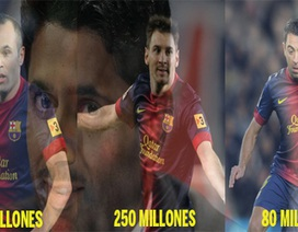 Không bán Thiago Silva, PSG còn đòi mua dàn sao Barca