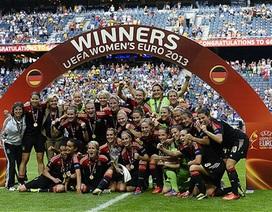 Tuyển nữ Đức lần thứ 6 liên tiếp vô địch Euro