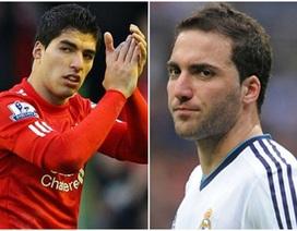 """Muốn mua Suarez, Real Madrid lấy Higuain làm """"vật tế thần"""""""