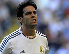 """Kaka tuyên bố muốn """"đào tẩu"""" khỏi Real Madrid"""