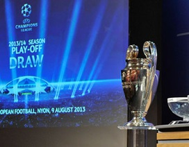 Bốc thăm play-off Champions League: Arsenal, AC Milan gặp khó