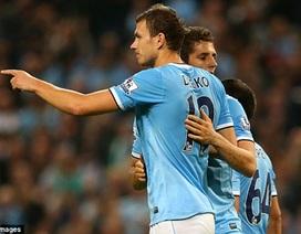 """Thắng """"5 sao"""", Man City rửa hận thành công trước Wigan"""