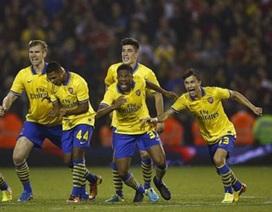 Thắng luân lưu trước West Brom, Arsenal nhọc nhằn đi tiếp
