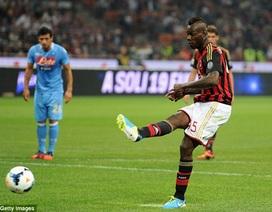 Gây hấn trọng tài, Balotelli lĩnh án phạt nặng