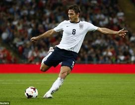 "Lampard sắp gia nhập ""CLB 100"" của tuyển Anh"
