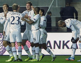 Europa League: Tottenham đặt vé đi tiếp, Swansea bị cầm hòa