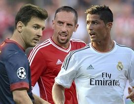 """C.Ronaldo, Ribery, Messi đua """"Quả bóng vàng FIFA"""" 2013"""